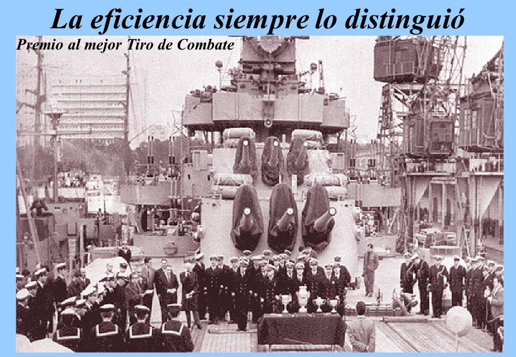 El 12 de abril de 1981 cumplió 30 años en la Marina Argentina...