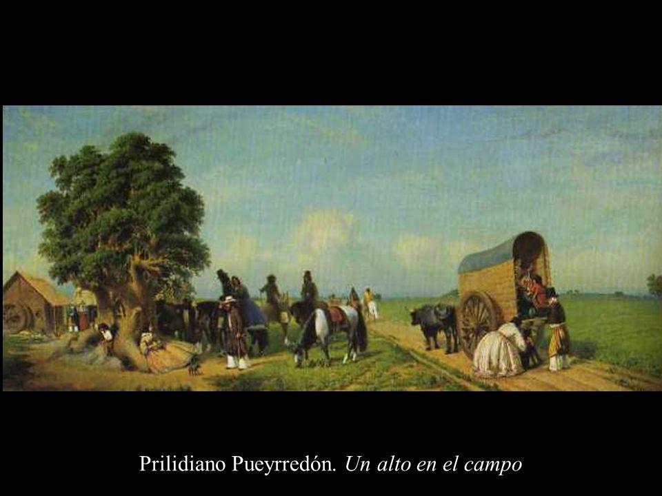 Carlos Morel. Combate de caballería