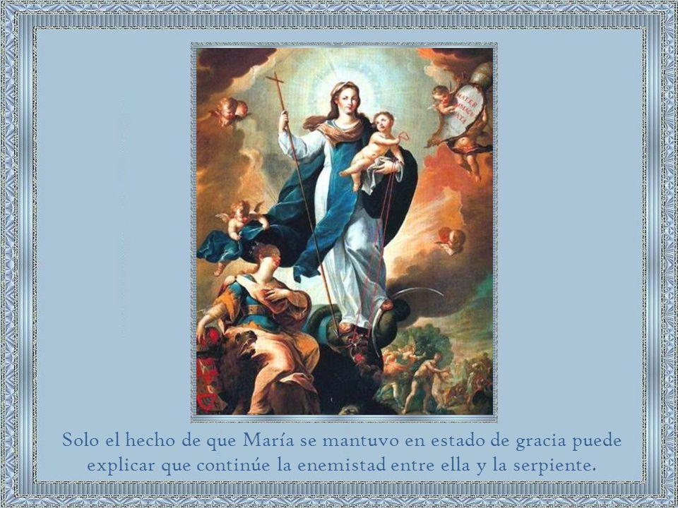 Cristo, la semilla de la mujer (María) aplastará la cabeza de la serpiente.