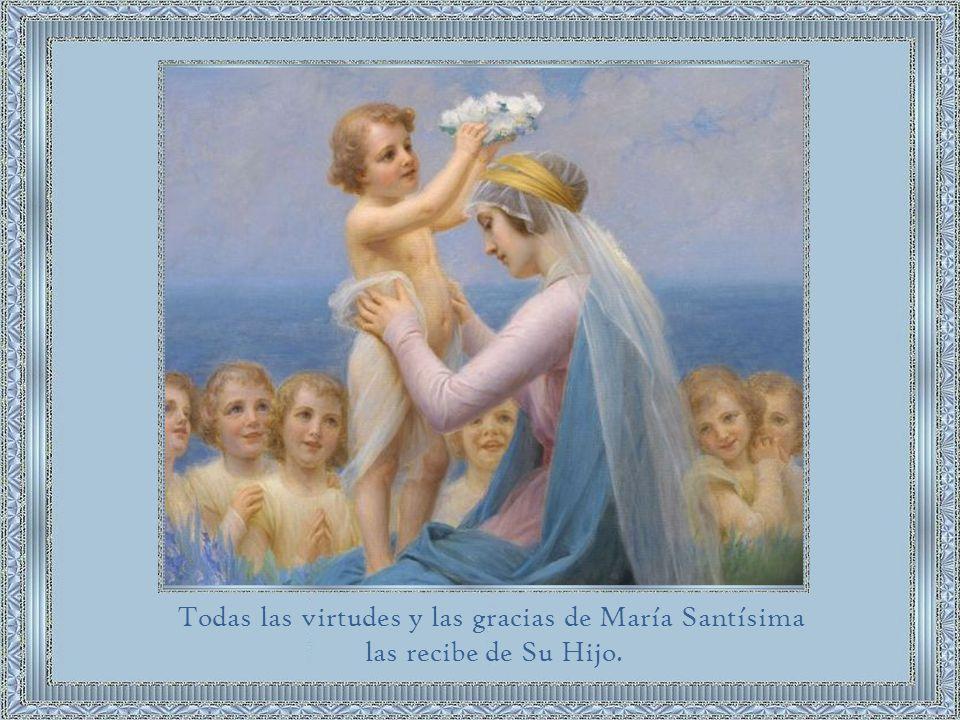 El dogma de la Inmaculada Concepción de María no ofusca, sino que más bien pone mejor de relieve los efectos de la gracia redentora de Cristo en la naturaleza humana.