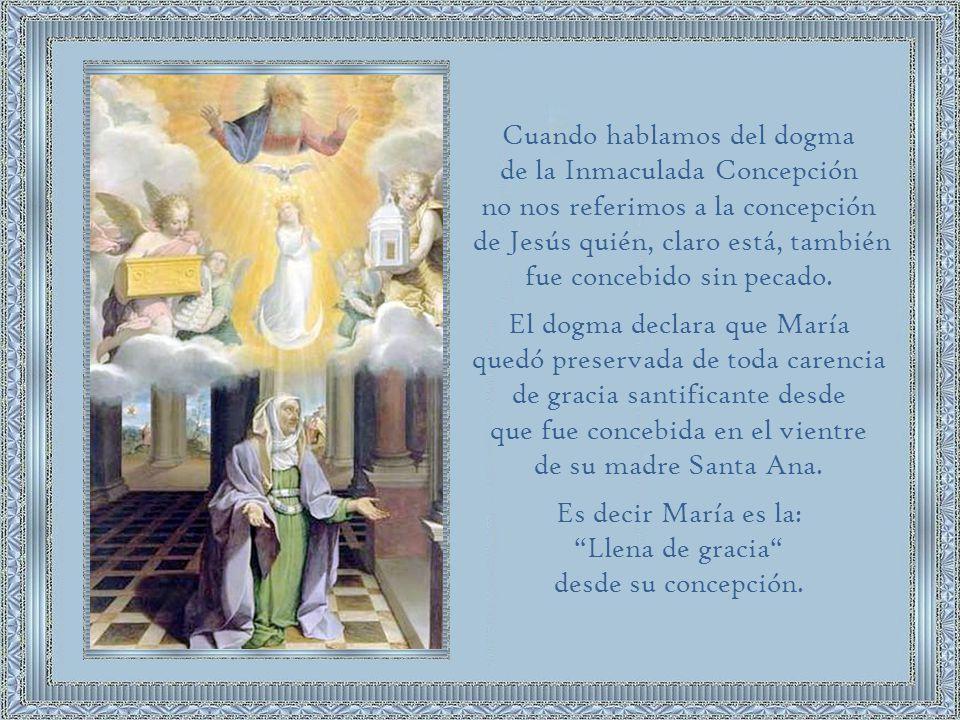 La Concepción: Es el momento en el cual Dios crea el alma y la infunde en la materia orgánica procedente de los padres.