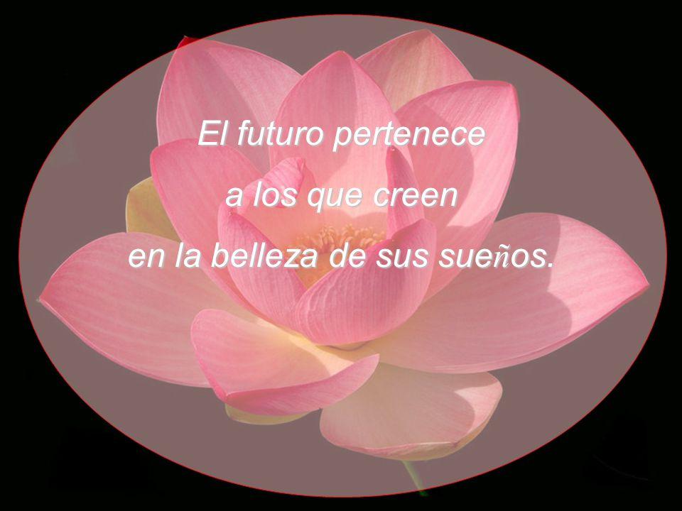 El futuro pertenece a los que creen en la belleza de sus sue ñ os.