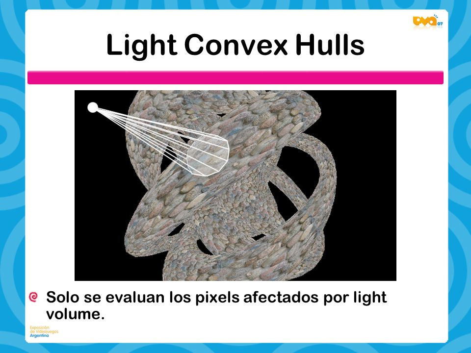 Light Convex Hulls Solo se evaluan los pixels afectados por light volume.