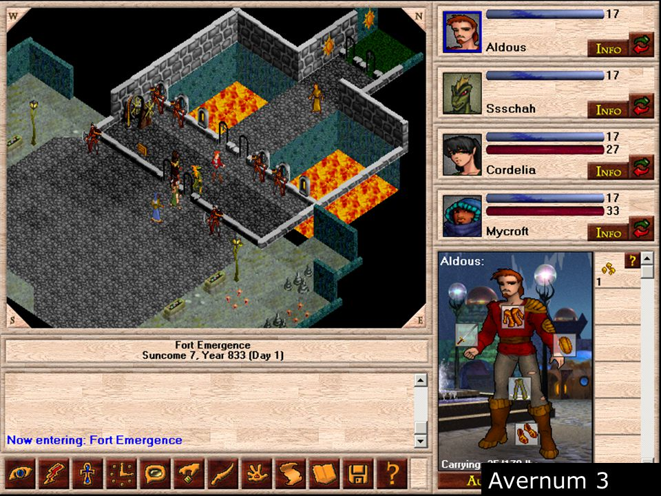 (Screenshot Avernum) Blooper: Controles Torpes Avernum 3