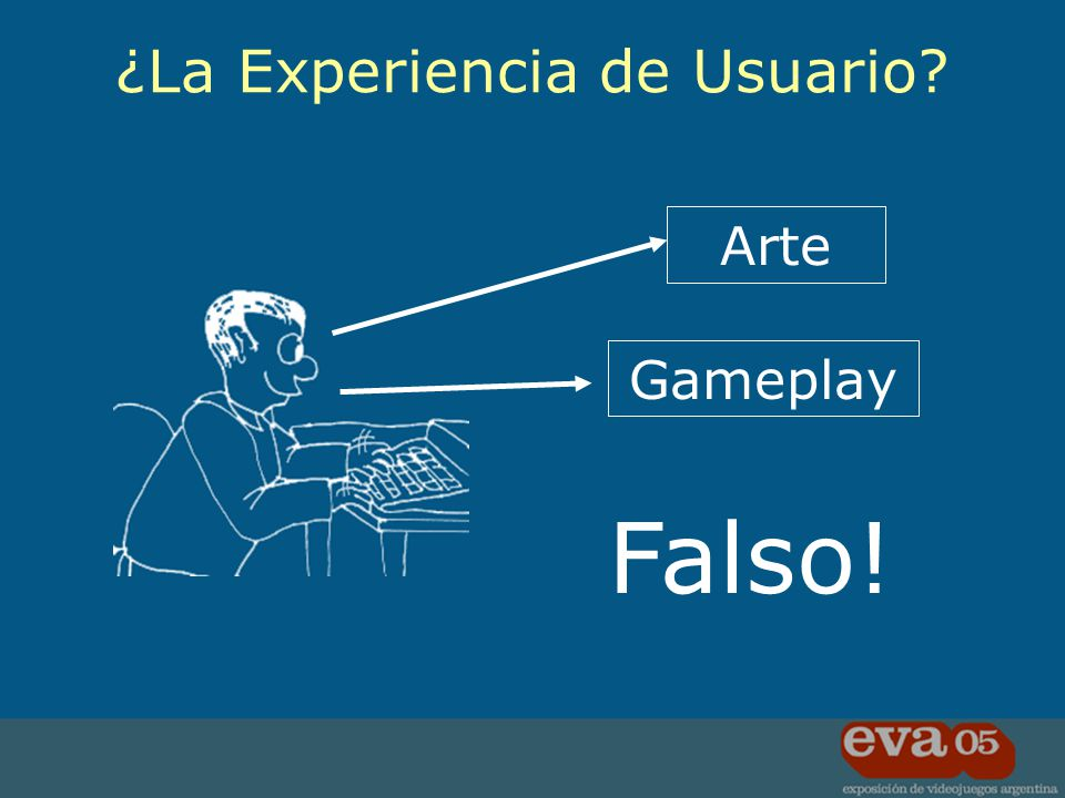 Arte Gameplay Falso! ¿La Experiencia de Usuario?