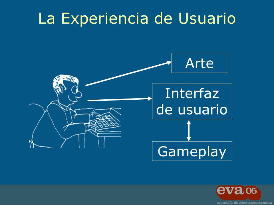Es la comunicación entre el jugador y nuestro juego Consecuencias de las fallas Usuarios frustrados Gameplay arruinado User Interface (UI)
