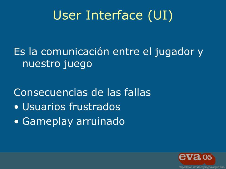 La UI es para el usuario Diseñarlas para ellos! El Rey de los Principios