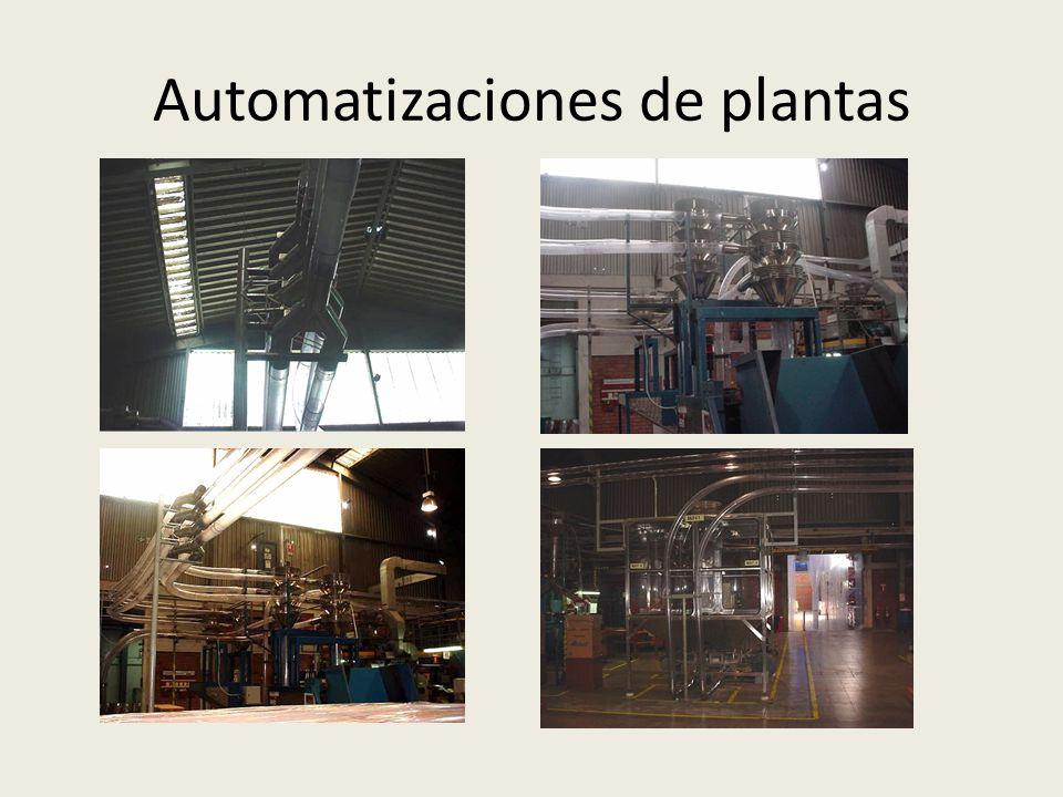 Automatizaciones de plantas