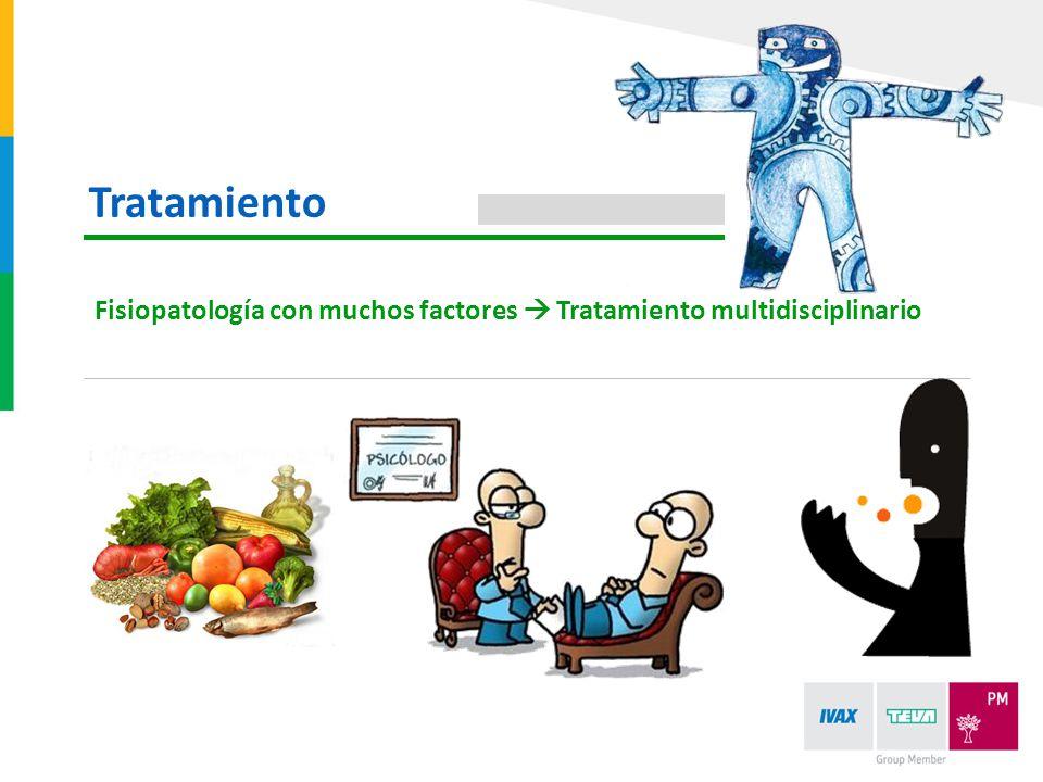Fisiopatología con muchos factores Tratamiento multidisciplinario Tratamiento