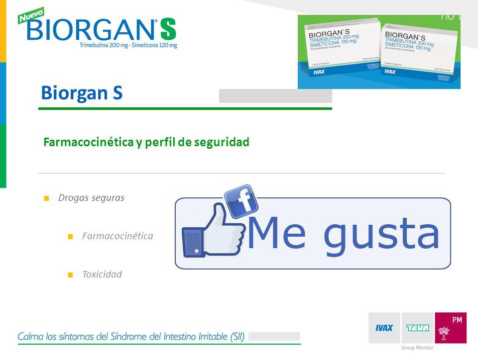 Drogas seguras Farmacocinética Toxicidad Farmacocinética y perfil de seguridad Biorgan S