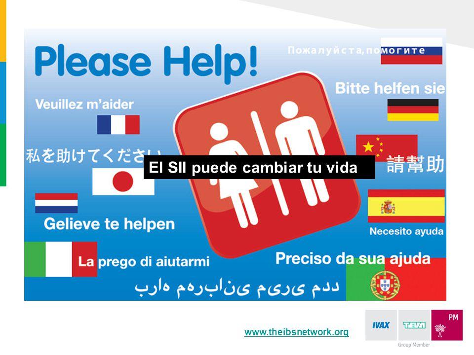 www.theibsnetwork.org El SII puede cambiar tu vida
