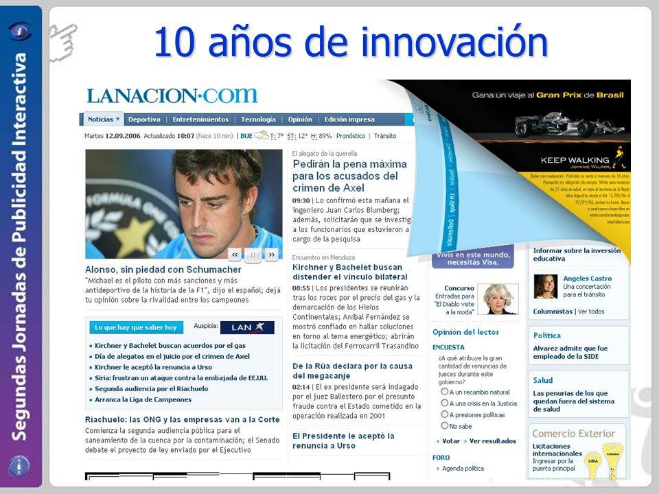 10 años de innovación