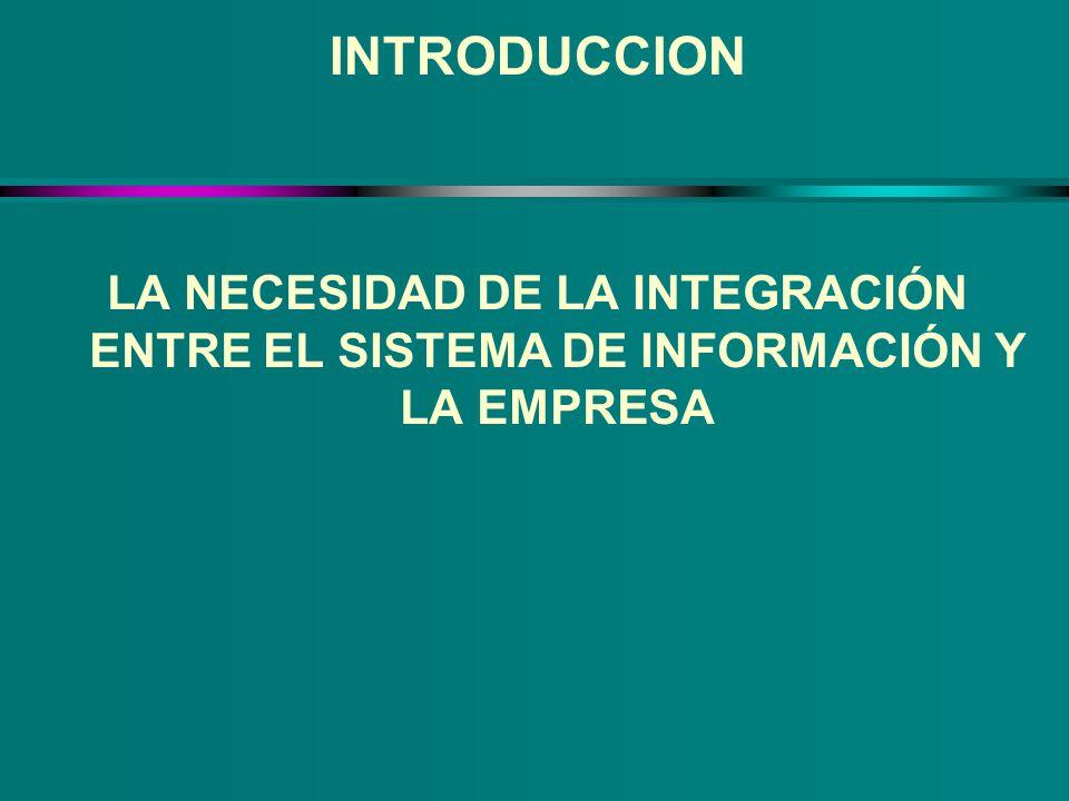 VENTAJAS DE LA INTRODUCCION DE UN ERP u Unifica el software que utiliza la organización u Hace de puente para que la información fluya a través de toda la organización u Provee una completa integración de los sistemas no sólo entre departamentos en una compañía sino también a través de las compañías bajo la misma gestión
