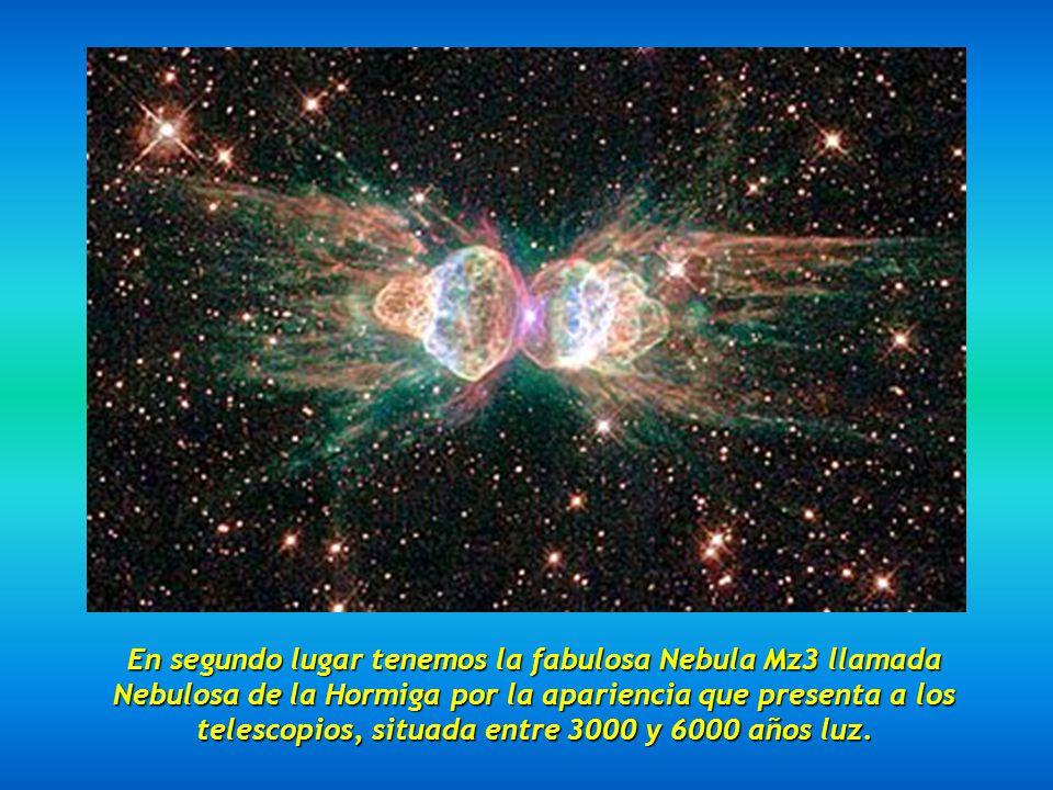 En primer lugar tenemos la Galaxia del Sombrero, llamada también M 104 en el catálogo Messier, distante unos 28 millones de años luz, se considera la