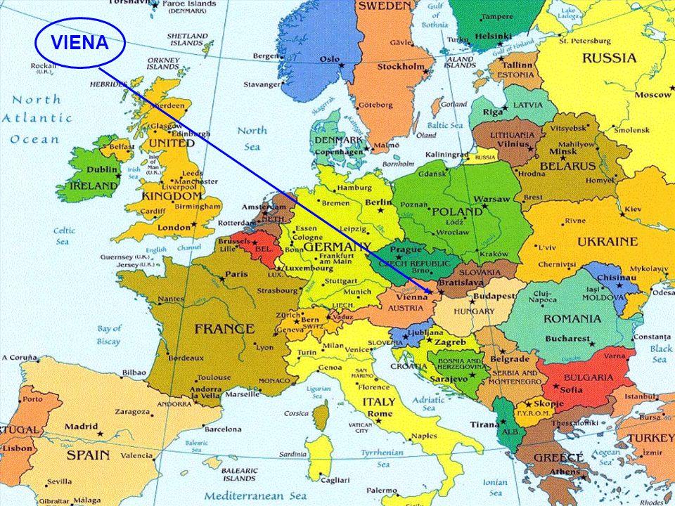 El imperio de los Habsburgo tenía una población de 56 millo- nes de habitantes y se extendía por: Austria, Alemania, Hun- gría, Italia, Rumanía y Checoslovaquia.