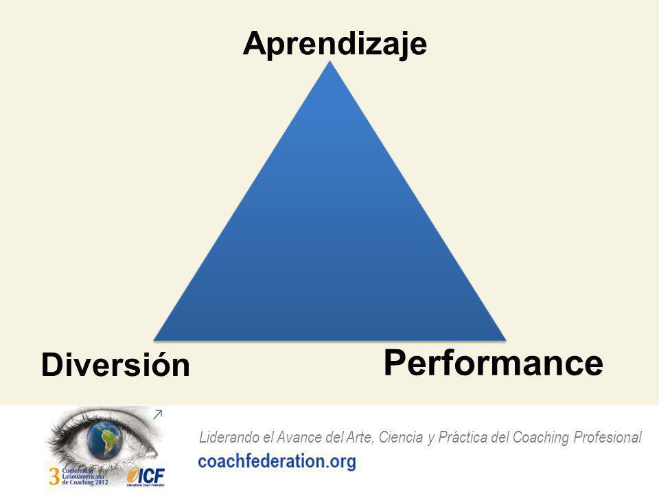 Liderando el Avance del Arte, Ciencia y Práctica del Coaching Profesional Performance Aprendizaje Diversión