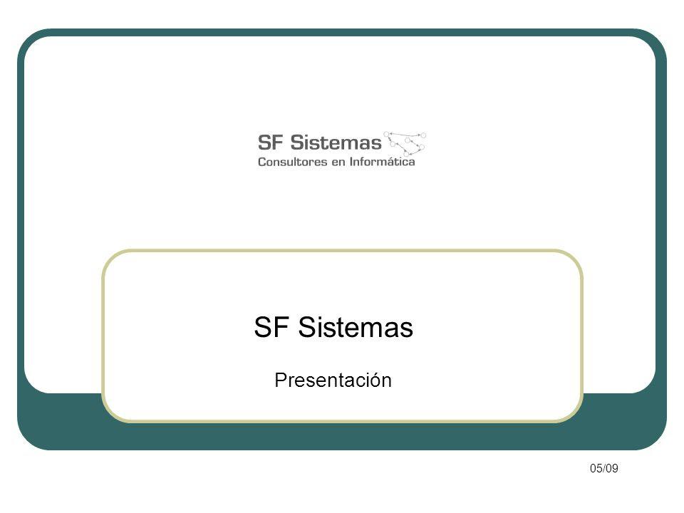 SF Sistemas Presentación 05/09