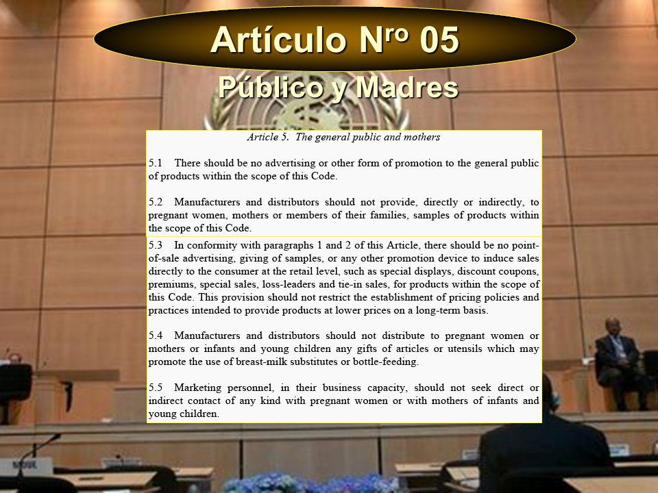 Artículo N ro 05 Público y Madres