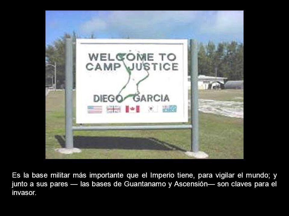 «Diego García» es un embrión de la muerte.