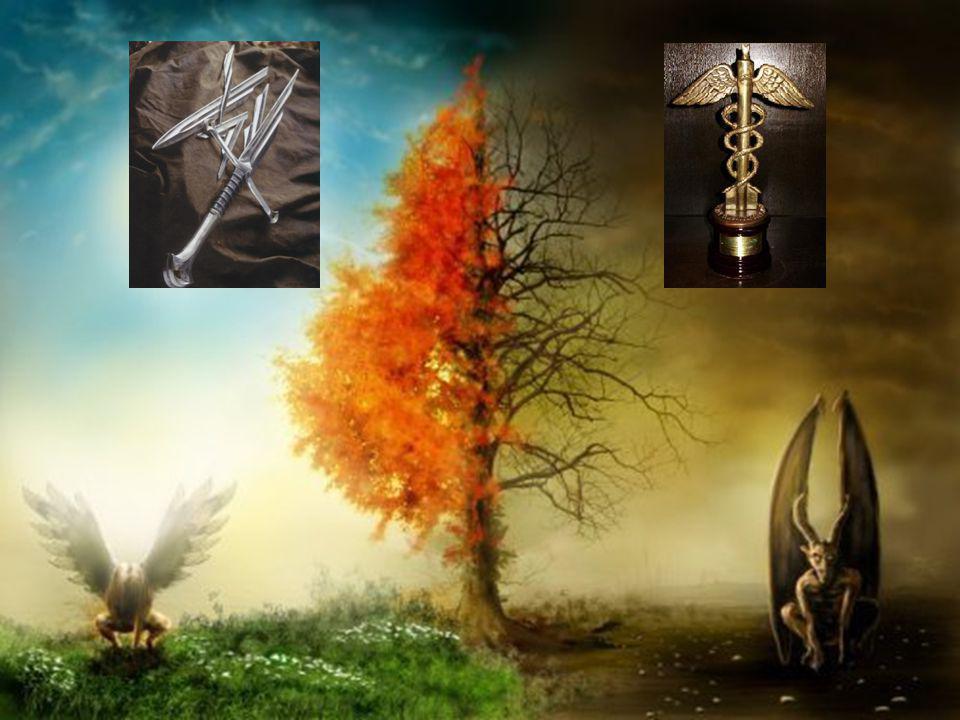 VIII. Gabriel La luz y la oscuridad son las dos eternas formas del mundo. Para el Absoluto el pasado, el presente y el futuro son uno. Dice que el Can