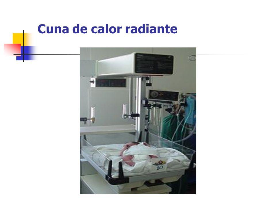 Cuna de calor radiante