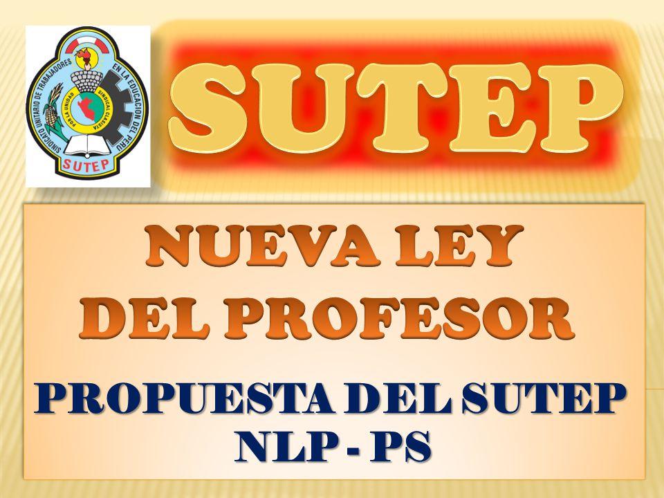 Se unifica la Carrera Pública del Profesor integrando en la presen- te Ley, a los profesores compren- didos en la Ley del Profesorado N° 24029 – 25212 y en la Ley 29062, quienes mantienen los res- pectivos niveles alcanzados.