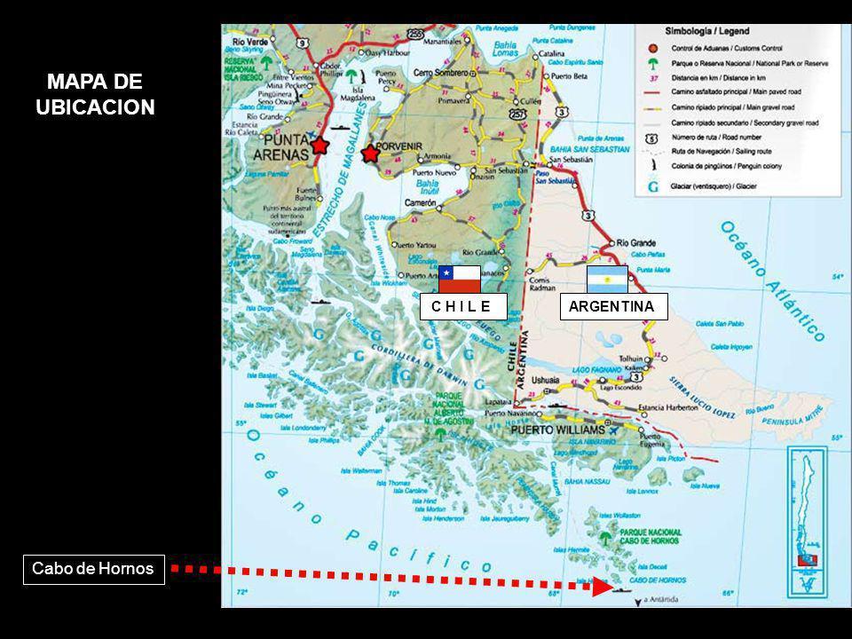 mar gruesa en el Cabo de Hornos
