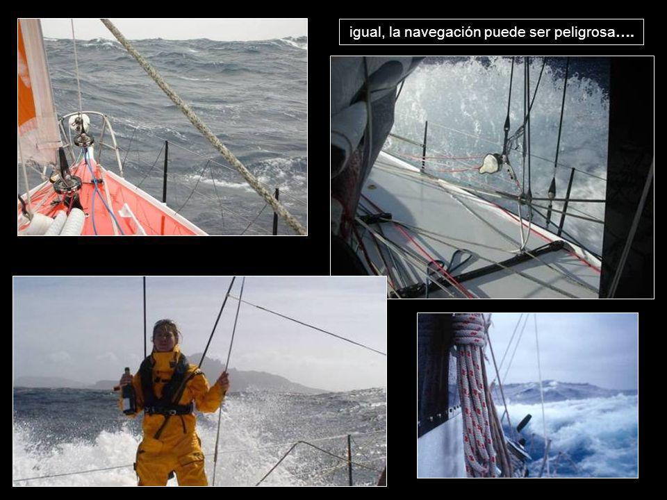igual, la navegación puede ser peligrosa….
