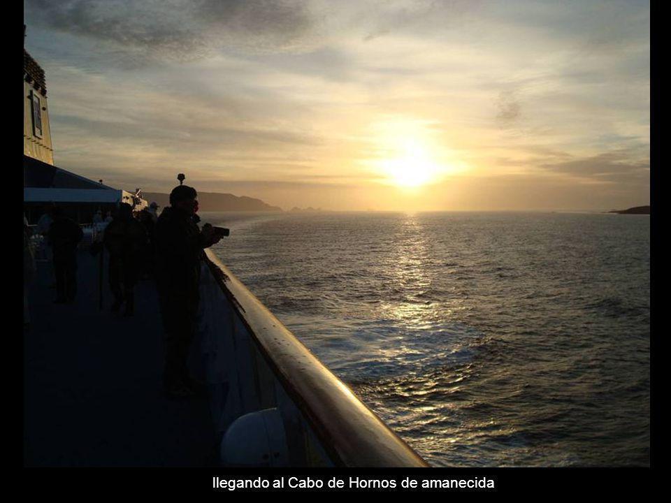 navegando por el Cabo de Hornos a bordo del Norwegian Dream – Feb 2008