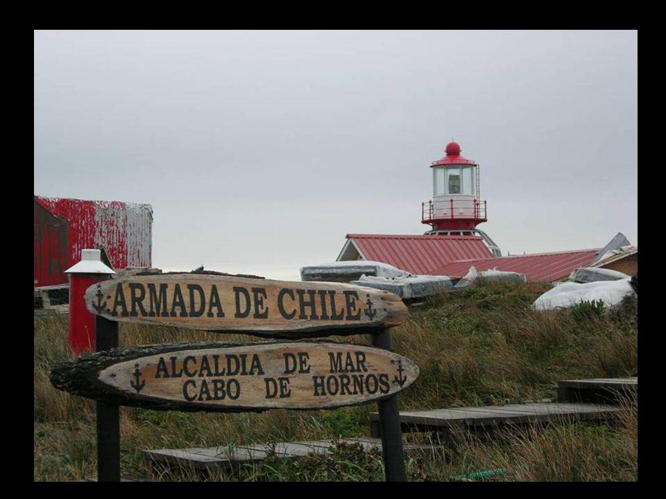 faro fragata Almte Lynch de la Armada de Chile sufriendo los rigores del Cabo de Hornos Alcaldía de Mar – Cabo de Hornos