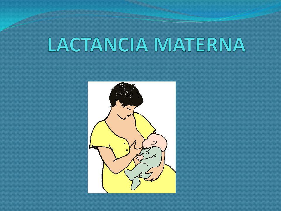 La OMS recomienda la lactancia materna exclusiva hasta alrededor de los seis meses de edad y la continuación de la misma, con introducción gradual de los alimentos complementarios, hasta el segundo año de vida y más, si fuera posible.