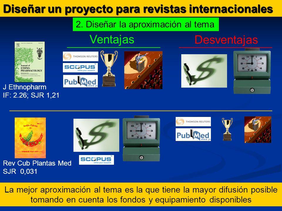 Diseñar un proyecto para revistas internacionales 2.