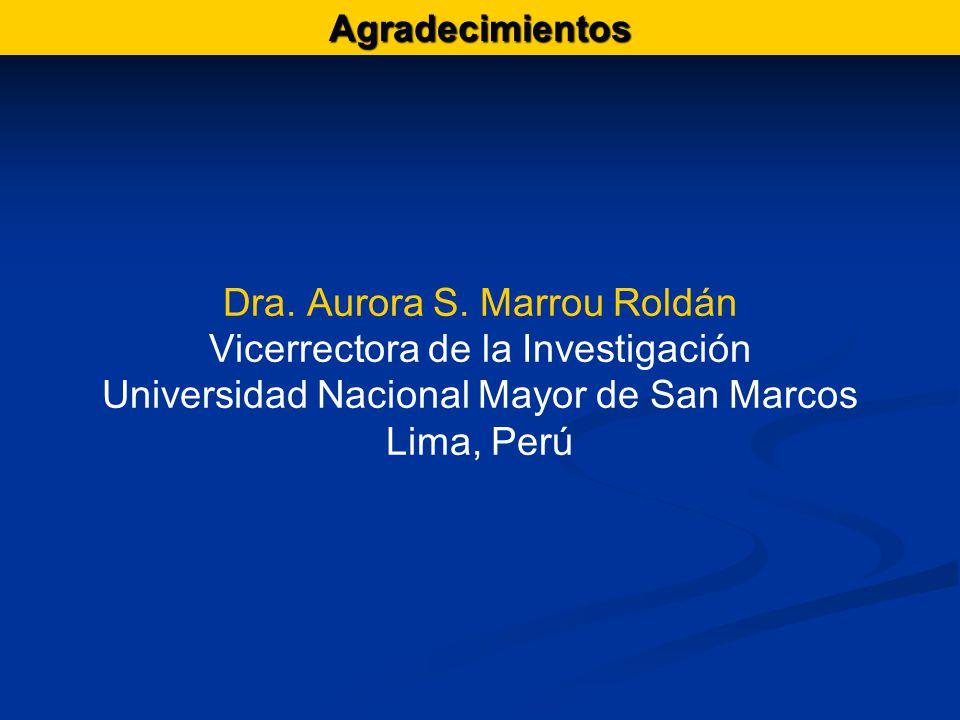 Dra. Aurora S.