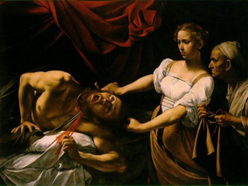 Gentileschi 1593 - 1656 Judith ha decapitado a Holofernes jefe del ejército asirio.
