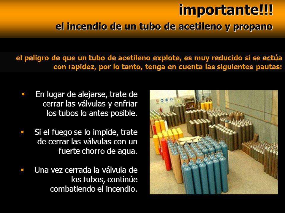 importante!!! importante!!! el incendio de un tubo de acetileno y propano el incendio de un tubo de acetileno y propano el peligro de que un tubo de a