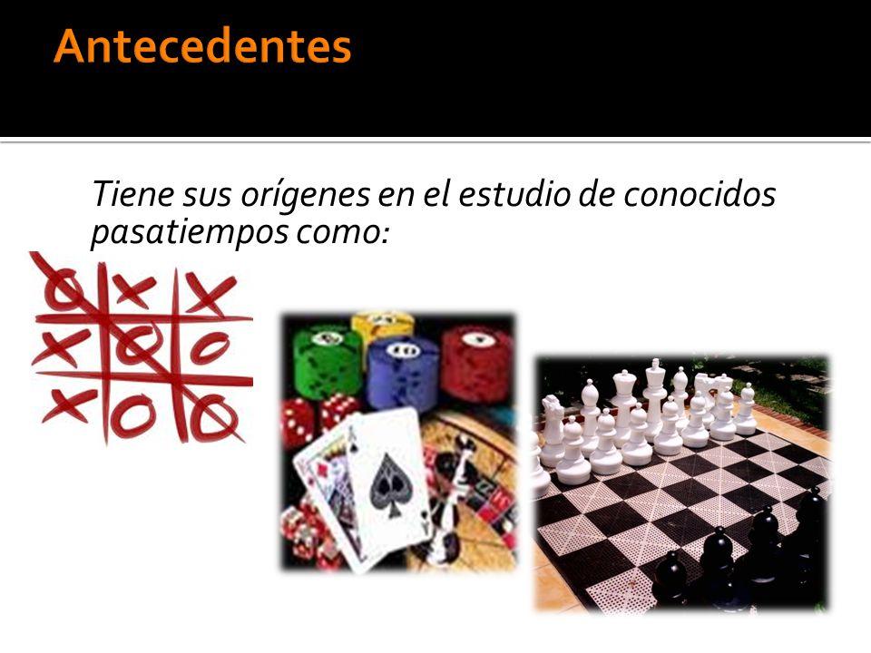 Fueron estudiados por primera vez por el matemático francés Émile Borel, quien publicó varios artículos sobre los juegos de azar y la teoría de las partidas.