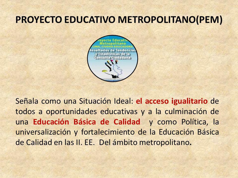 INSTITUTO PERUANO DE EVALUACIÓN, ACREDITACIÓN Y CERTIFICACIÓN DE LA CALIDAD DE LA EDUCACIÓN BÁSICA (IPEBA) La calidad educativa que sustenta la matriz proyecta los enfoques de equidad, interculturalidad y diversidad, propias de la realidad nacional.