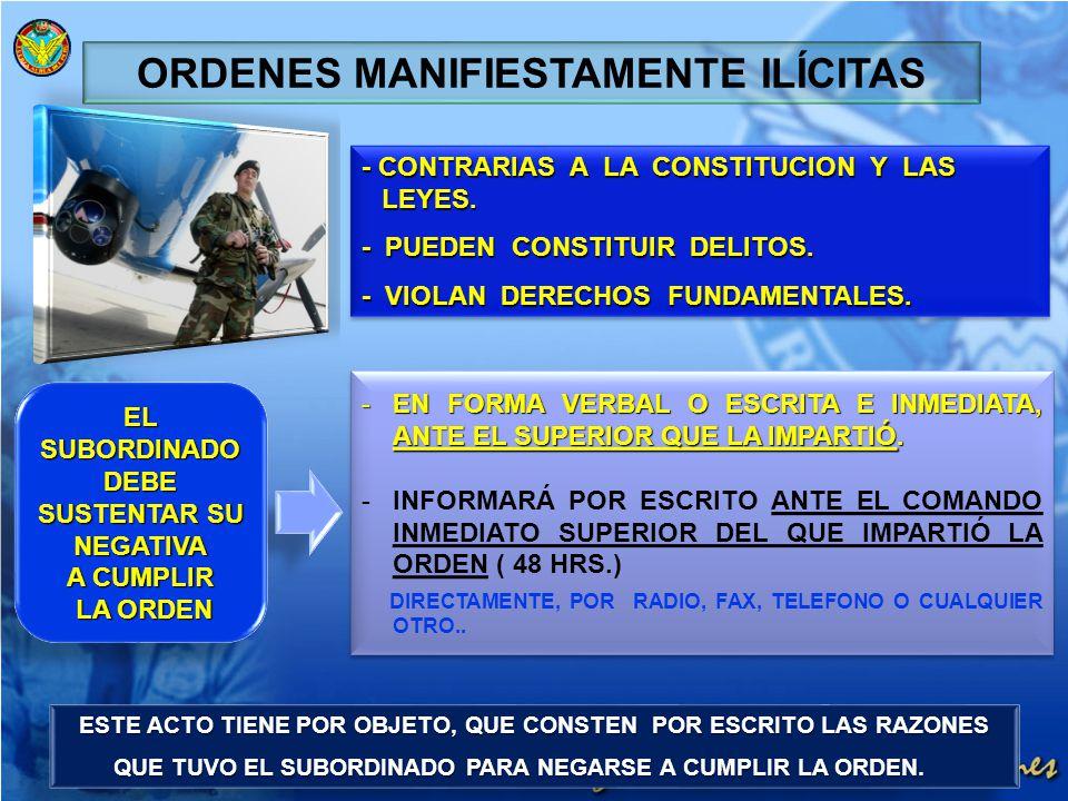 - CONTRARIAS A LA CONSTITUCION Y LAS LEYES. - PUEDEN CONSTITUIR DELITOS. - VIOLAN DERECHOS FUNDAMENTALES. - CONTRARIAS A LA CONSTITUCION Y LAS LEYES.