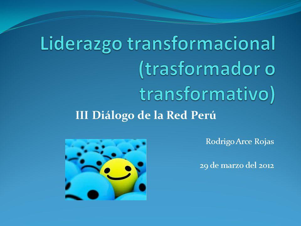 III Diálogo de la Red Perú Rodrigo Arce Rojas 29 de marzo del 2012