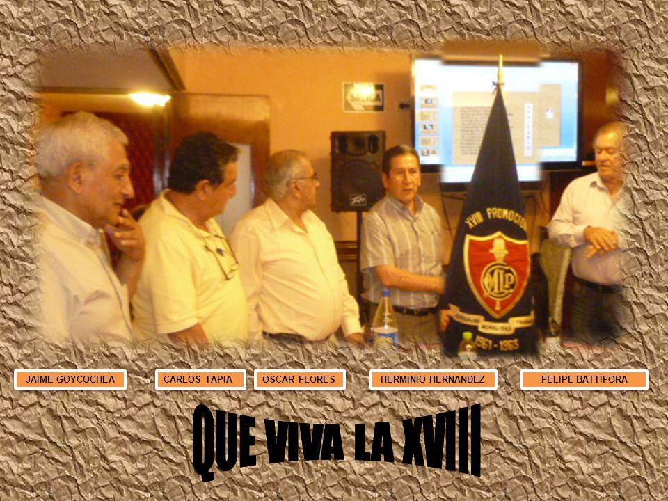 JAIME GOYCOCHEA CARLOS TAPIA OSCAR FLORES HERMINIO HERNANDEZ FELIPE BATTIFORA