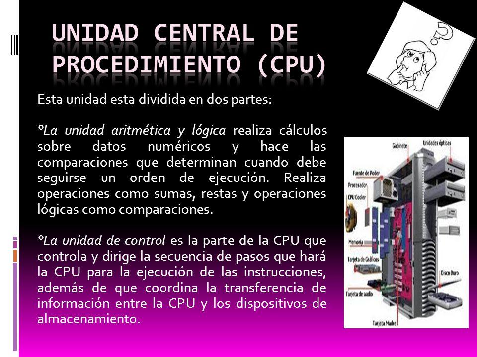 Existen dos tipos de memoria principal: la memoria RAM y la memoria ROM.