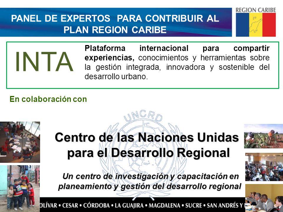 Un centro de investigación y capacitación en planeamiento y gestión del desarrollo regional Un centro de investigación y capacitación en planeamiento