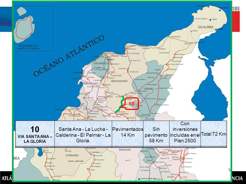 BARRANCABERMEJA SIMITÍ NOROSÍ BARRANCO DE LOBA PUERTO LIBERTADOR VALENCIA SAN PEDRO AYAPEL Puerto Estrella Nazaret Castillete Punta Gallinas 10