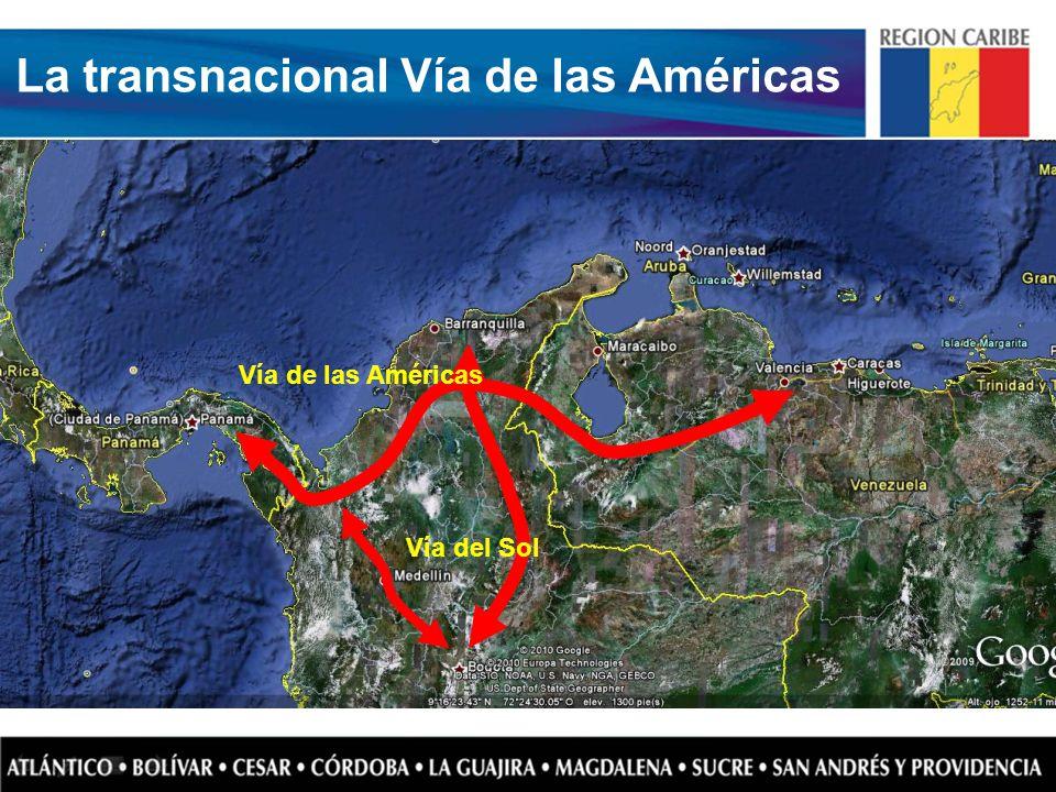 Vía de las Américas Vía del Sol La transnacional Vía de las Américas
