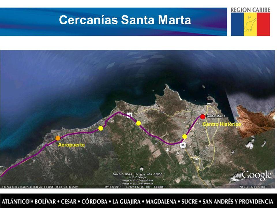 Cercanías Santa Marta