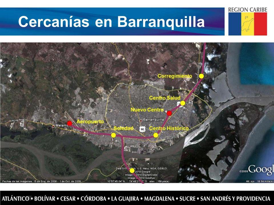 Cercanías en Barranquilla