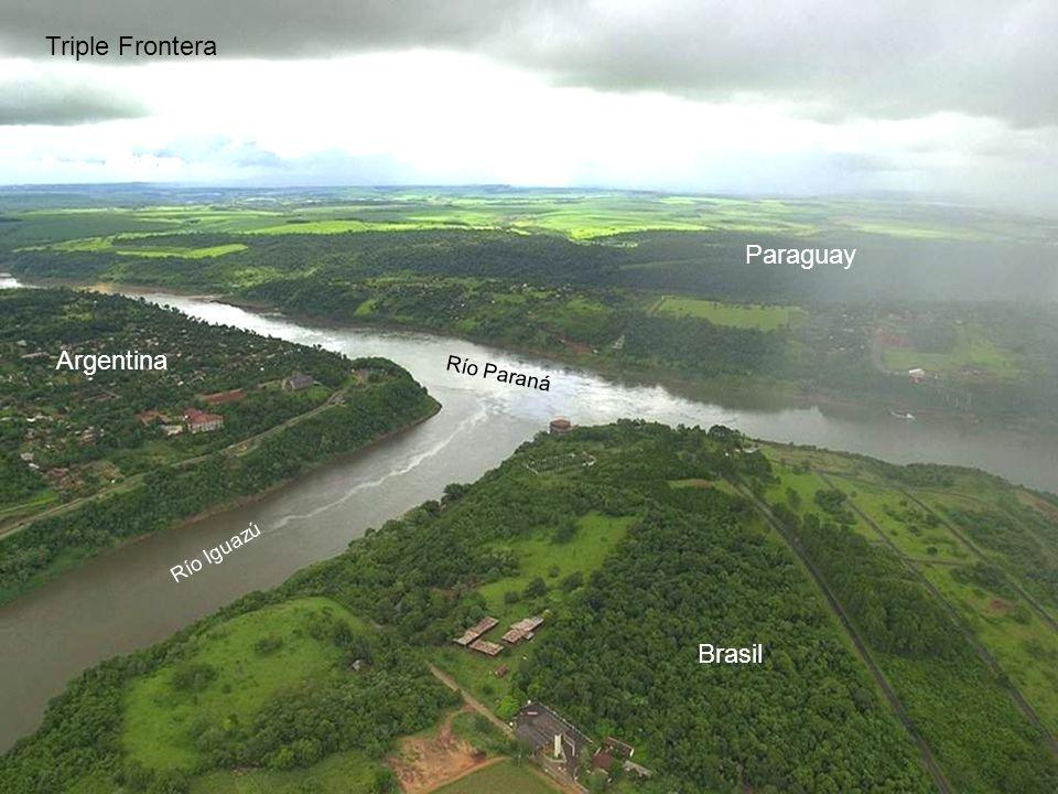 BRASIL ARGENTINA Triple Frontera PARAGUAY