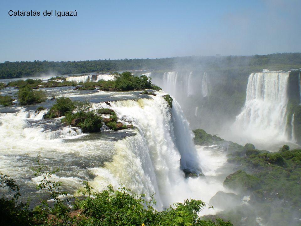 Brasil Argentina Cataratas del Iguazú Garganta del Diablo Río Iguazú Superior