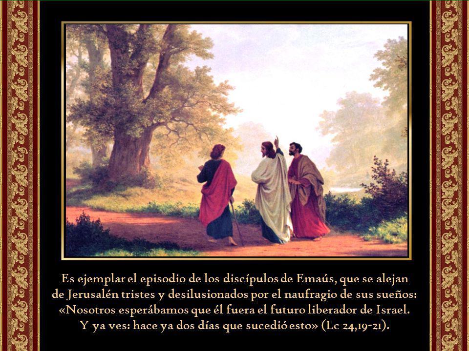 Y son frecuentes las reprensiones de Jesús resucitado frente al estupor y la incredulidad de sus discípulos: «¡Qué necios y qué torpes sois para creer lo que anunciaron los profetas.