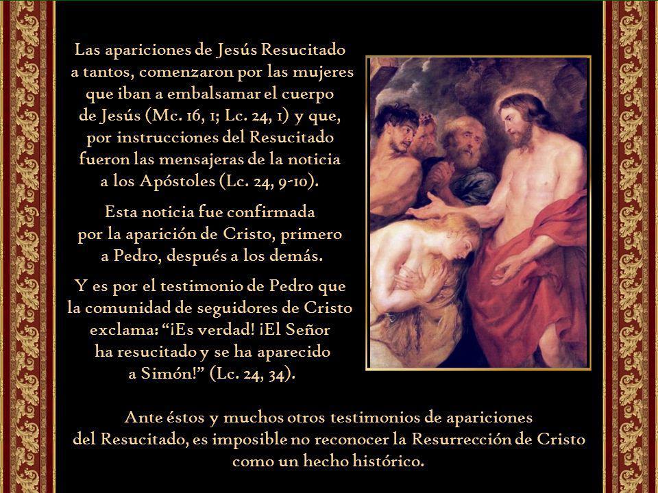 El Hijo de Dios vuelve a entrar en la comunidad de amor del Padre pero ya con su humanidad resucitada.